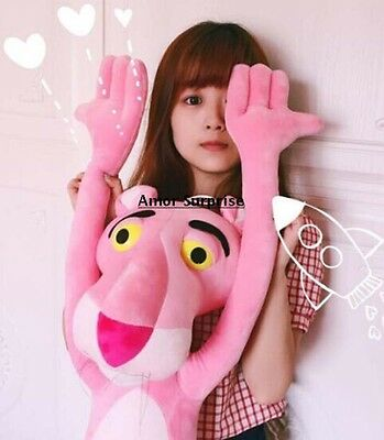 "New Anime Pink Panther NICI Plush Toy Stuffed Animal Doll 80cm 30"" LARGE LIFE"
