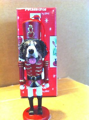 Bernese Mountain Dog   ~ Nutcracker Dog Soldier Ornament #52