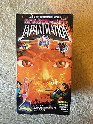 Spaced-Out Japanimation 4 VHS Tapes Spaceketeers Starvengers Grandizer Gaiking