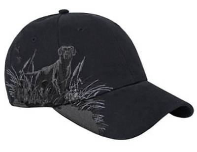 Dri Duck Bird Hunting Dog Labrador Retriever Baseball Hat Cap Black Lab