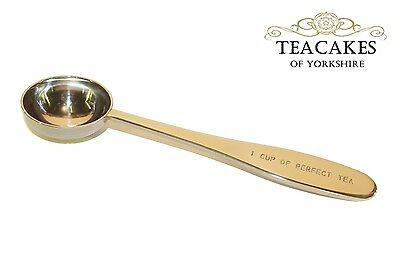 Perfect Cup Of Loose Leaf Tea Measuring Spoon Quality Stainless Steel 18/10