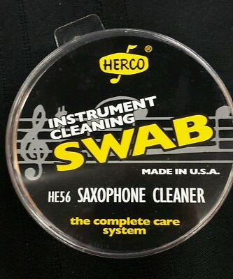 Herco Saxophone Cleaner Cloth HE56 Maintenance Care