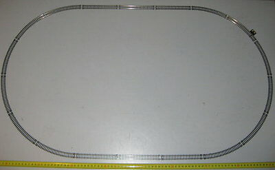 N Gauge H0e Testkreis from GT Oval track Power connector Rails compatible