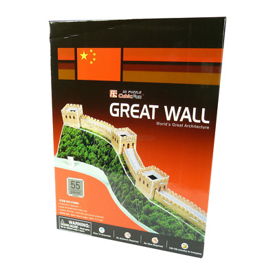 CubicFun - 3D Puzzle - Great Wall - 3D Puzzel - Chinesische Mauer - Spielzeug