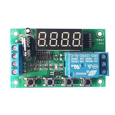 Voltage Monitor Relay Switch Control Board Module Buzzer Alarm DC 12V Test G92J