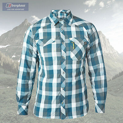 Berghaus Men's Explorer Eco Long Sleeve Shirt - Authorised Dealer