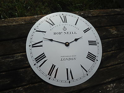 HORLOGE EMAILLEE RONDE BOMBEE London EMAIL VERITABLE 800°C FAB EN FRANCE AFFAIRE