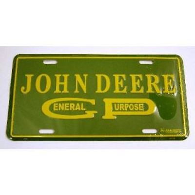 John Deere Plate - General Purpose - Key Enterprises - 62495 - NEW!