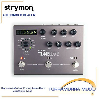 Strymon TimeLine - Multidimensional Delay Effects Pedal - Guitar FX