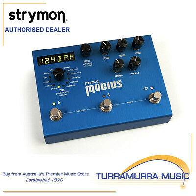 Strymon Mobius - Modulation Effects Pedal - Guitar FX - Multi Effects Pedal