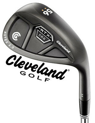 New 2015 Cleveland Rtx 2.0 588 Wedge Cb Black Satin - Pick Your Specs