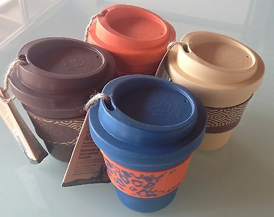 Ecosoulife Aroma Sip reuseable coffee tea travel cup lid eco friendly bamboo