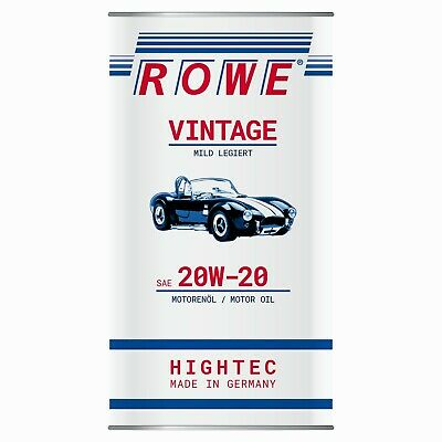 5 liter rowe hightec vintage sae 40 unlegiert oldtimer motor l made in germany eur 28 69. Black Bedroom Furniture Sets. Home Design Ideas