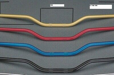 Triumph Speed Triple Manubrio Ergal /Handlebar Anodized Ergal Size 22 Mm