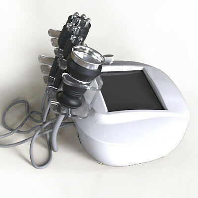 Lymphatic Drainage Radio Frequency Skin Rejuvenation Cavitation Slimming Machine