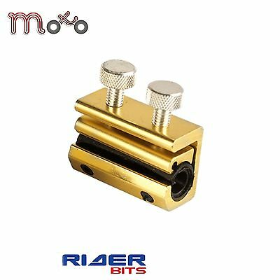 Motorcycle Cable Oiler Double Screw Lubricator Clamp Dual Clutch Brake Tool