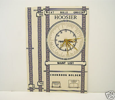 Hoosier Cabinet Door Chart Set