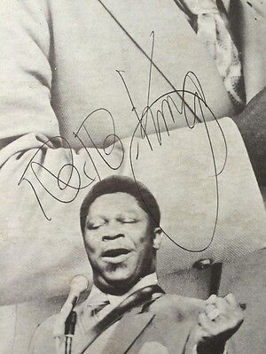 BB KING B.B. Signed Autographed Completely Well Album Lp