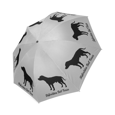 STAFFORDSHIRE BULL TERRIER Dog Puppy Collection Auto Foldable UMBRELLA Free Ship