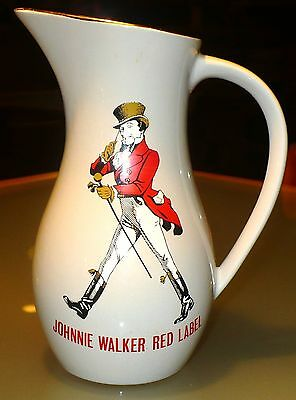 Vintage Wade Ceramics Johnnie Walker Red Label Pitcher Made In England
