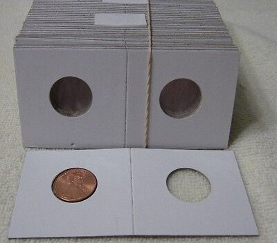 200 2x2 Cardboard Coin Holder - Penny - Cent  20mm