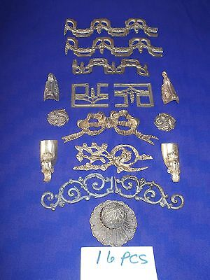 bronze / vintage bronze ormolu lot of 16 pieces for $35