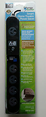 5 Outlet Auto Standby Killer Power Board Energy Saver Surge Protector RRP $49