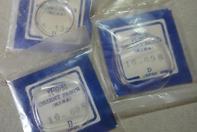 Genuine Orient Japan Watch Glass - Crystal - Various Sizes For Orient Watches!