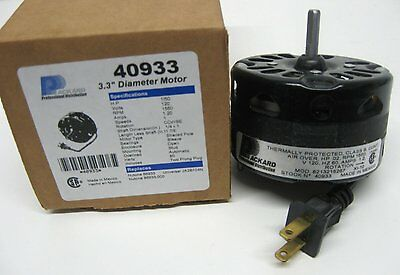 PACKARD 40933 3.3 Inch Diameter Vent Fan Motor Direct Replacement For Nutone