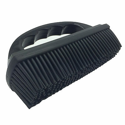 Rubber Pet Hair Fur Removal Car Home Fabric Upholstery Carpet Seats Brush