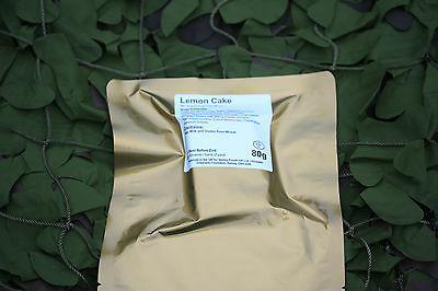 LEMON CAKE Camping British Army MRE Rations Hiking Scouts Survival Fishing DofE