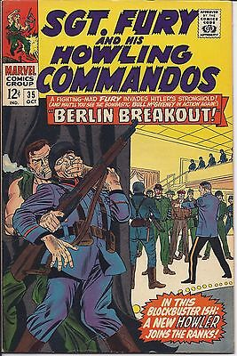 Sgt. Fury And His Howling Commandos #35 in NM