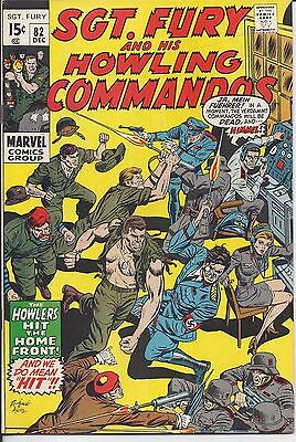 Sgt. Fury And His Howling Commandos #82 in NM