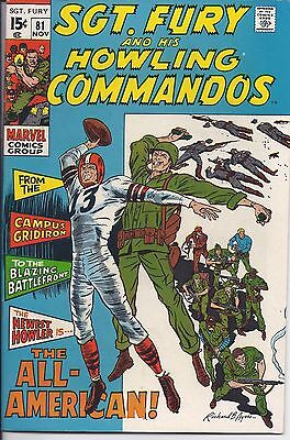 Sgt. Fury And His Howling Commandos #81 in NM