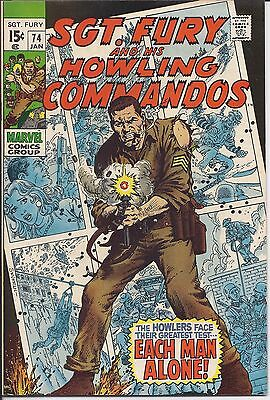 Sgt. Fury And His Howling Commandos #74 in NM