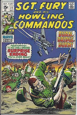 Sgt. Fury And His Howling Commandos #71 in NM