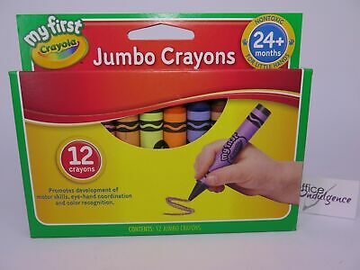 Crayola My First Jumbo Crayon 12Pk  101x14mm – 52 912*