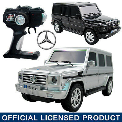 Official Licensed 1:18 Mercedes Benz G Class G500 RC Remote Control Car Kid Toy