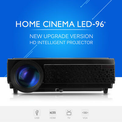 Multimedia 5000 Lúmenes 3D LED Proyector 5000:1 1920x1080P Home Theater Película