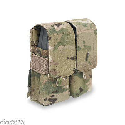 ELITE OPS 5.56mm DOUBLE M4 SA80 F88 MOLLE AMMO MAGAZINE POUCH