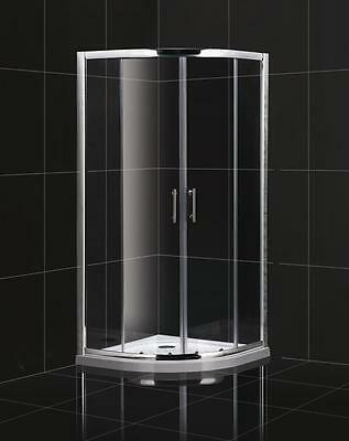 Corner Quad Shower Cubicle Lower Height 1750mm x 700mm 800mm 900mm Quadrant NEW!