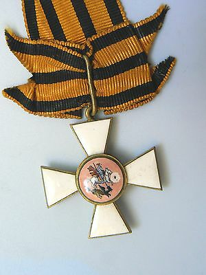 RUSSIA IMPERIAL,ORDER OF ST. GEORGE, gold gilt, enamels, very rare