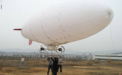 16M 52ft PRO Zeppelin Giant Radio Control Blimp Airship Aerial Construction work