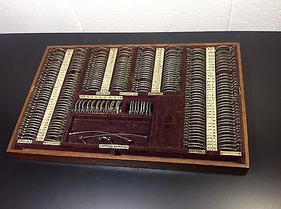 Antique Optometrist Kit
