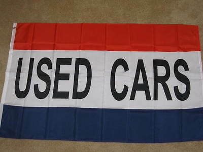 Used Cars flag 3x5 feet Auto lot store shop banner sign