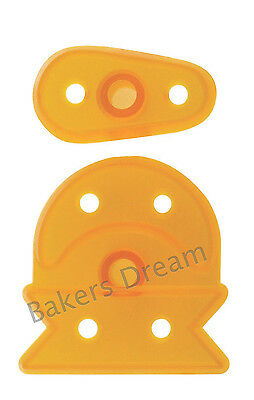 JEM SUGARCRAFT CUTTERS MEDIUM SIZE BABY BOOTEE / BOOTIE-Cake Equipment- Set of 3