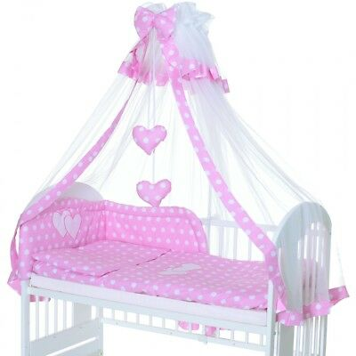 Baby Bedding 6 pieces children room complete set bumper canopy