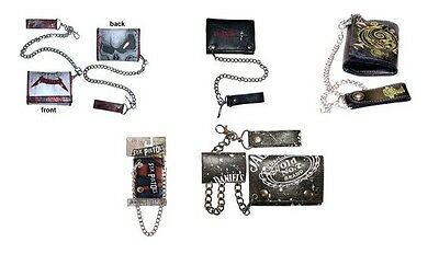 # KILLSWITCH ENGAGE sex pistols JACK DANIELS  - OFFICIAL CHAIN WALLET