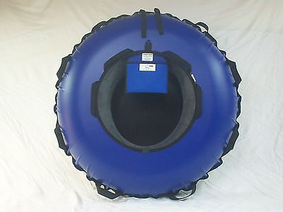 """New 44"""" Towable, Commercial Snow Tube. Blue.  Made In The Usa"""