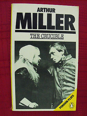 an analysis of the society in the crucible a play by arthur miller The puritan society crucible: reverend hale character analysis reverend hale's character is dramatically changed throughout arthur miller's play: the crucible.